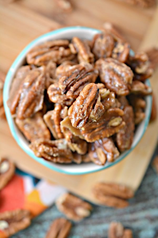 Caramel Coated Pecans