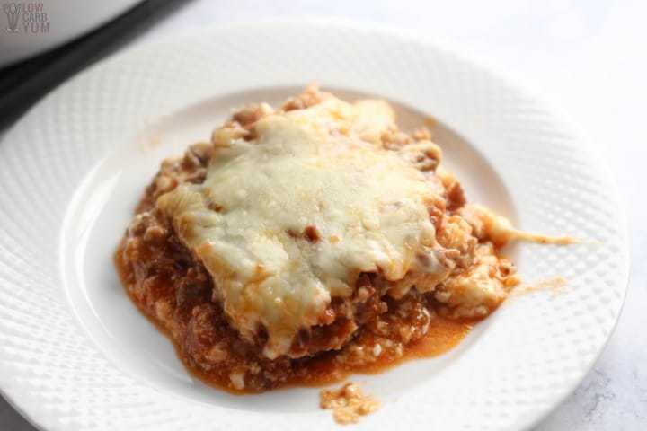 Eggplant Parm Lasagna Casserole