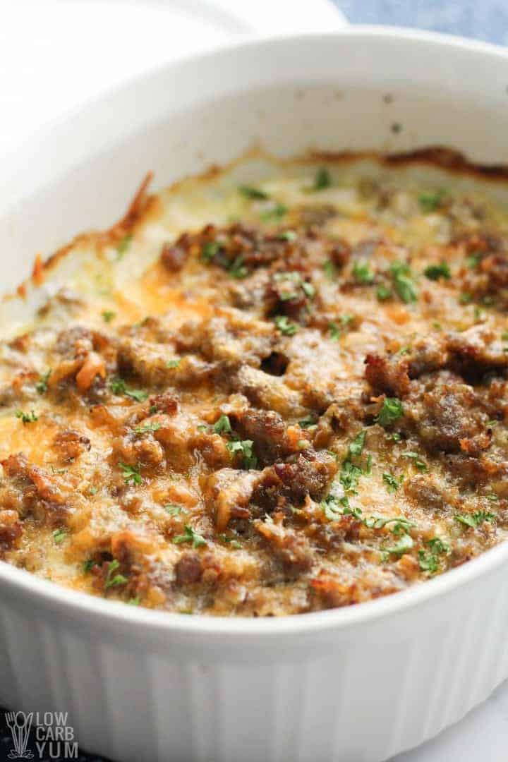 Daikon Potato Sausage Casserole