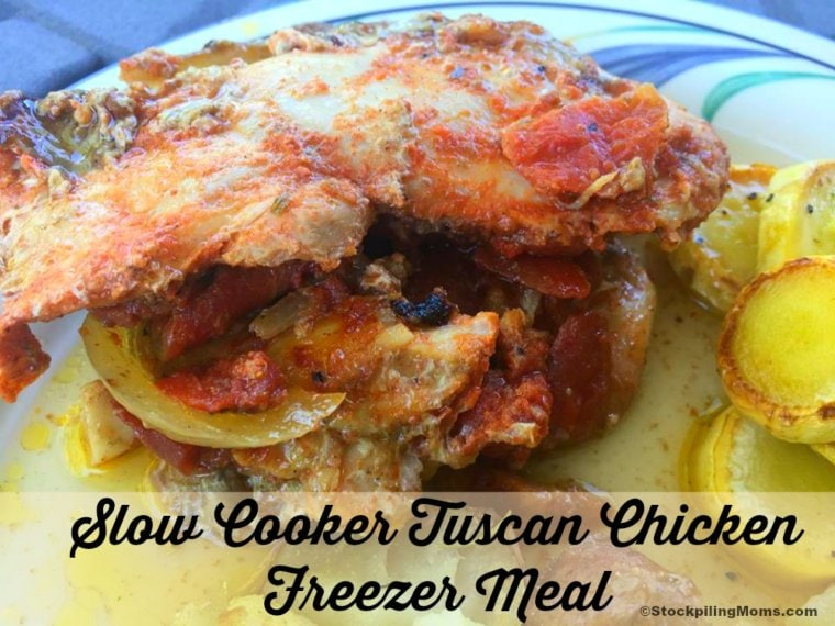 Slow Cooker Tuscan Chicken