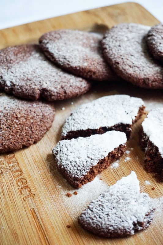 Chocolate Fudge Keto Cookies