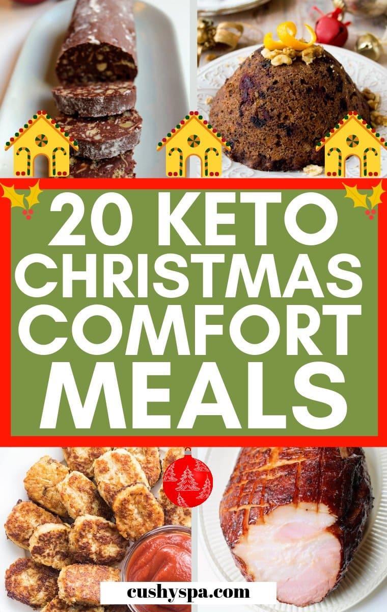 keto christmas comfort meals