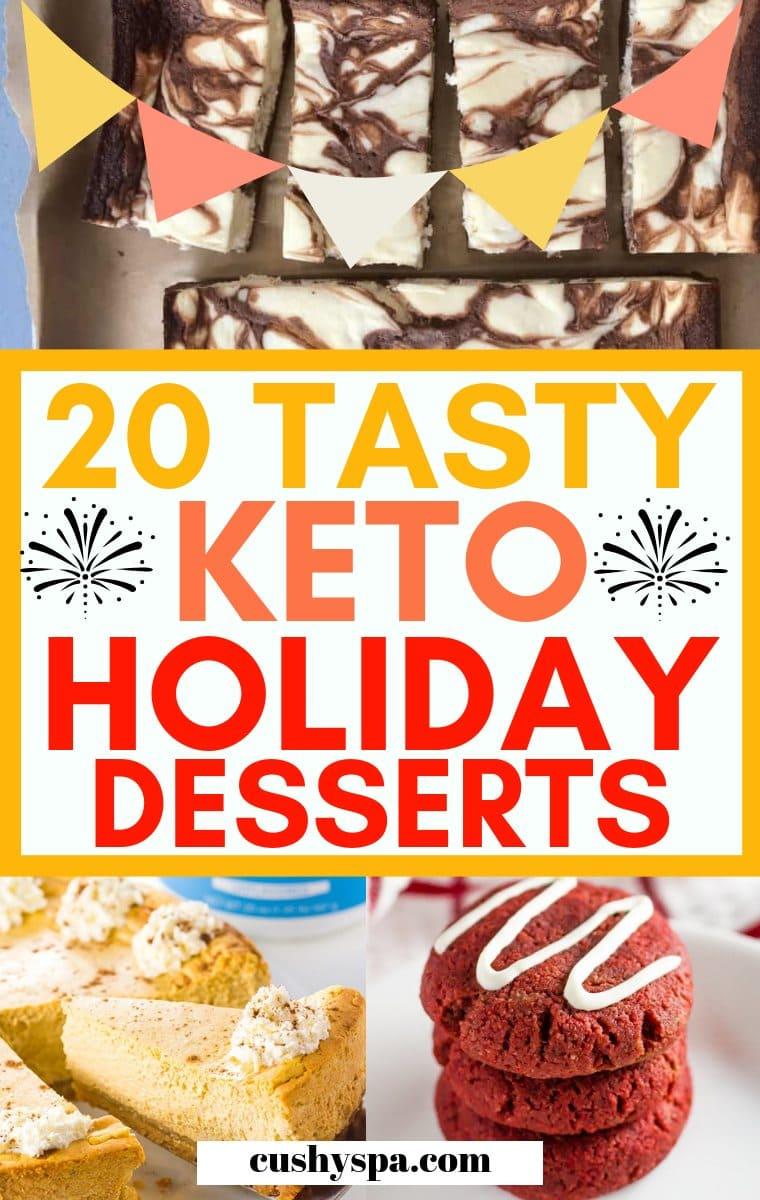 ketogenic desserts for holidays