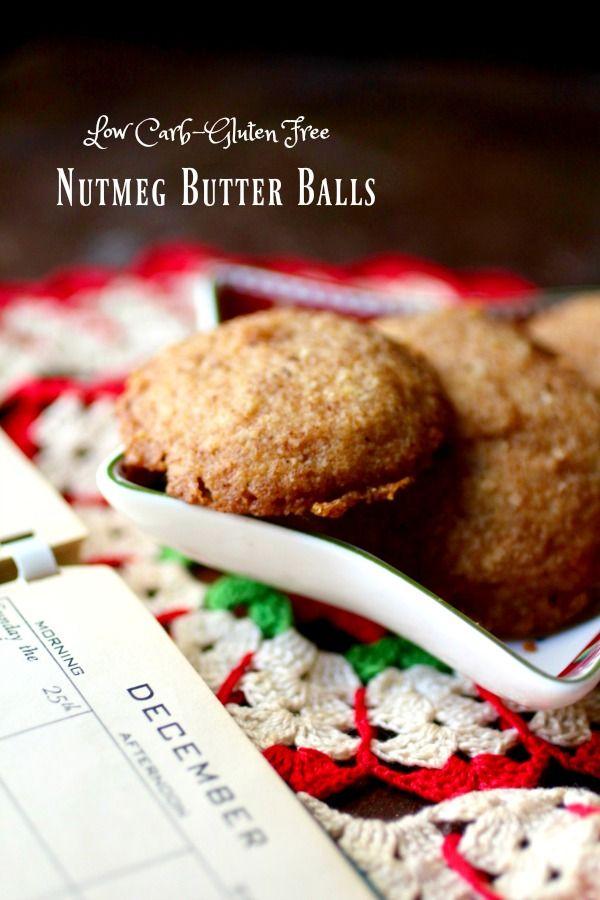 Nutmeg Butter Balls