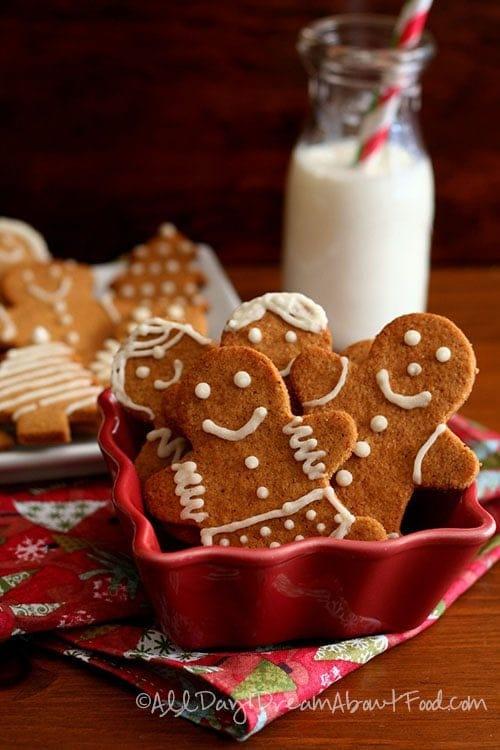 Keto Gingerbread Men