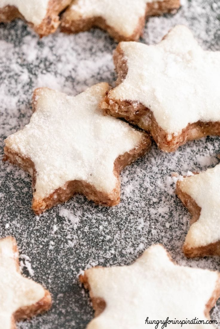 Keto Cinnamon Star Cookies