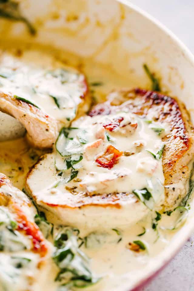 Creamy Dijon Pork Chops