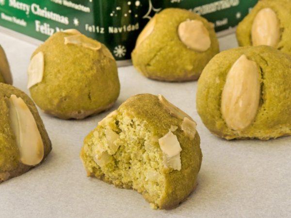 Christmas Marzipan Cookies