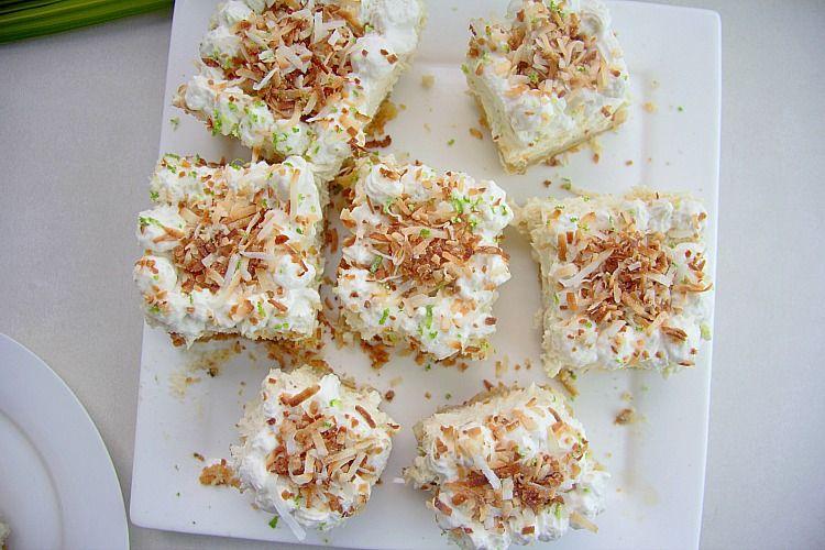 Coconut Cheesecake Bars