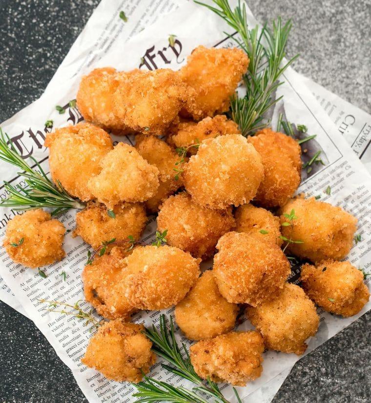 Keto Cauliflower Bites