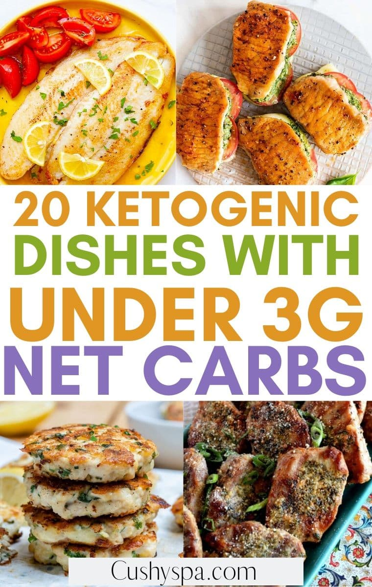 keto meals with under 3g carbs