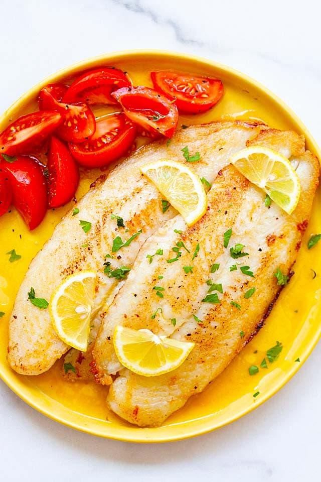 Lemon Butter Sway Fish