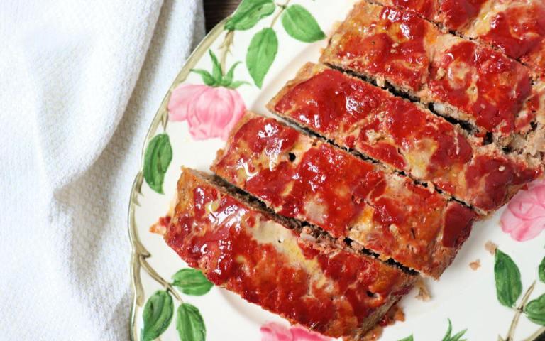Keto Turkey Meatloaf