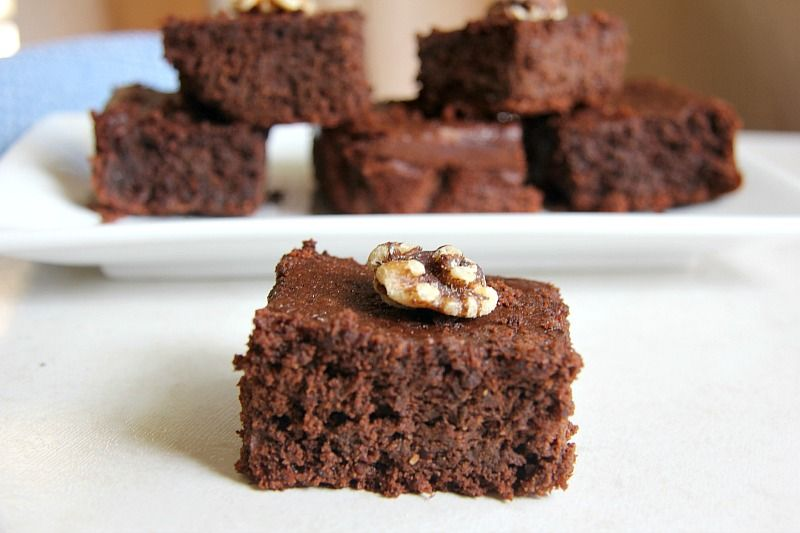 Flaxseed Chocolate Brownie