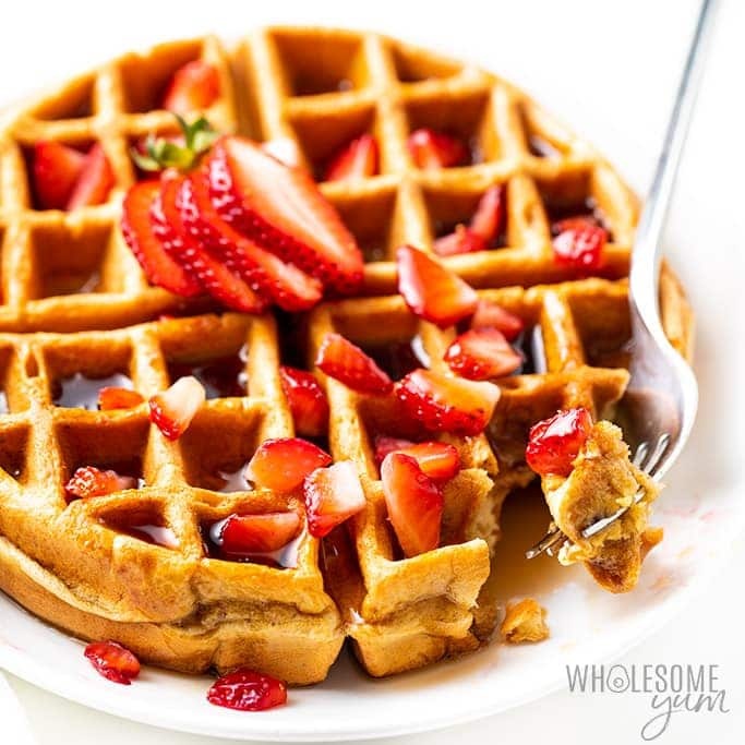 Low Carb Protein Waffles