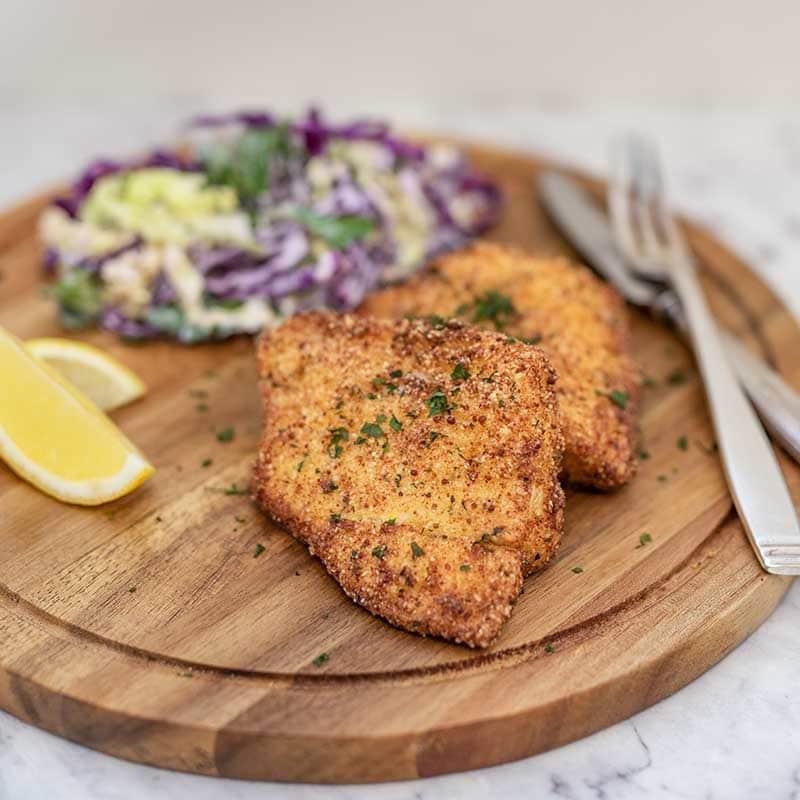Keto Breaded Fish
