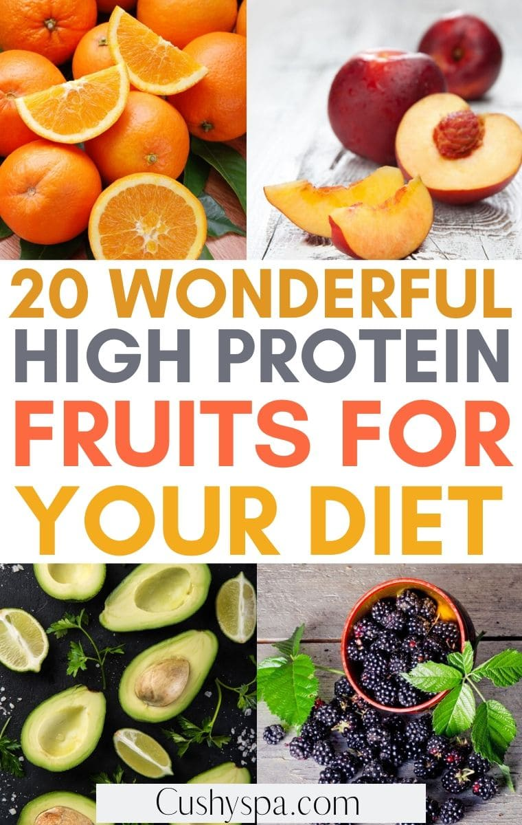 high protein fruits for your diet