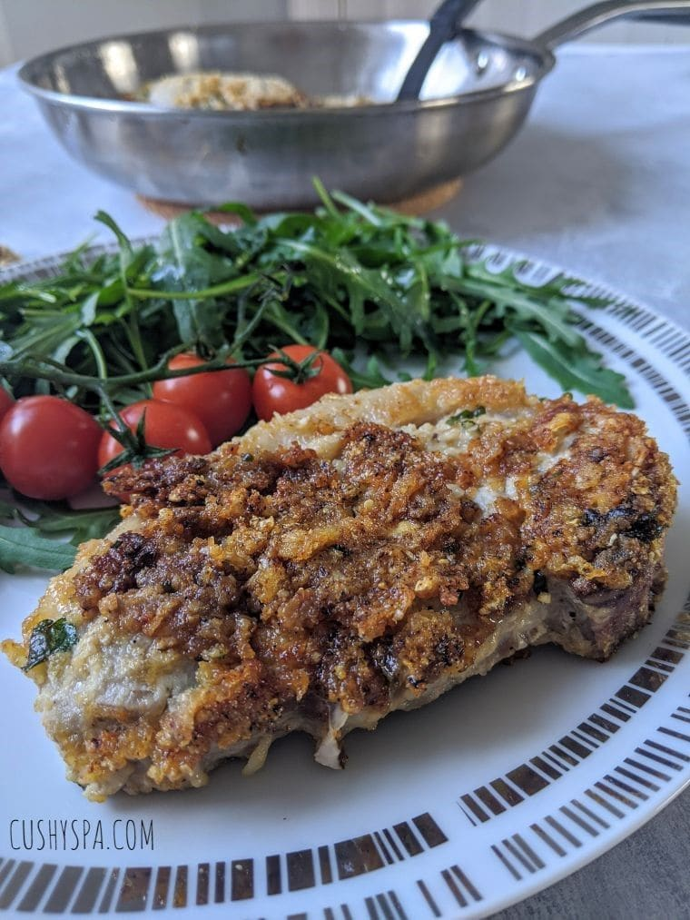 Parmesan Crusted Pork Chops
