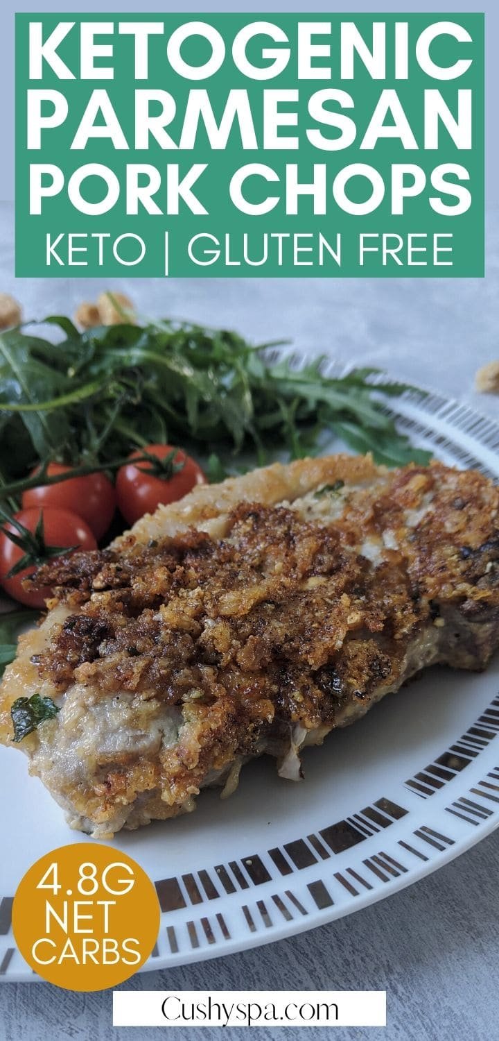 Make these ketogenic pork chops and enjoy a low carb diet. Such a quick keto dish like this is perfect as a low carb dinner or lunch!