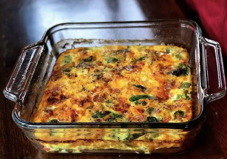 Meal Prep Breakfast Casserole