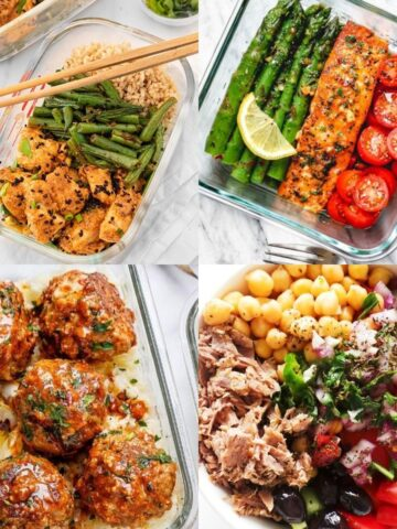 20 High Protein Meal Prep Ideas