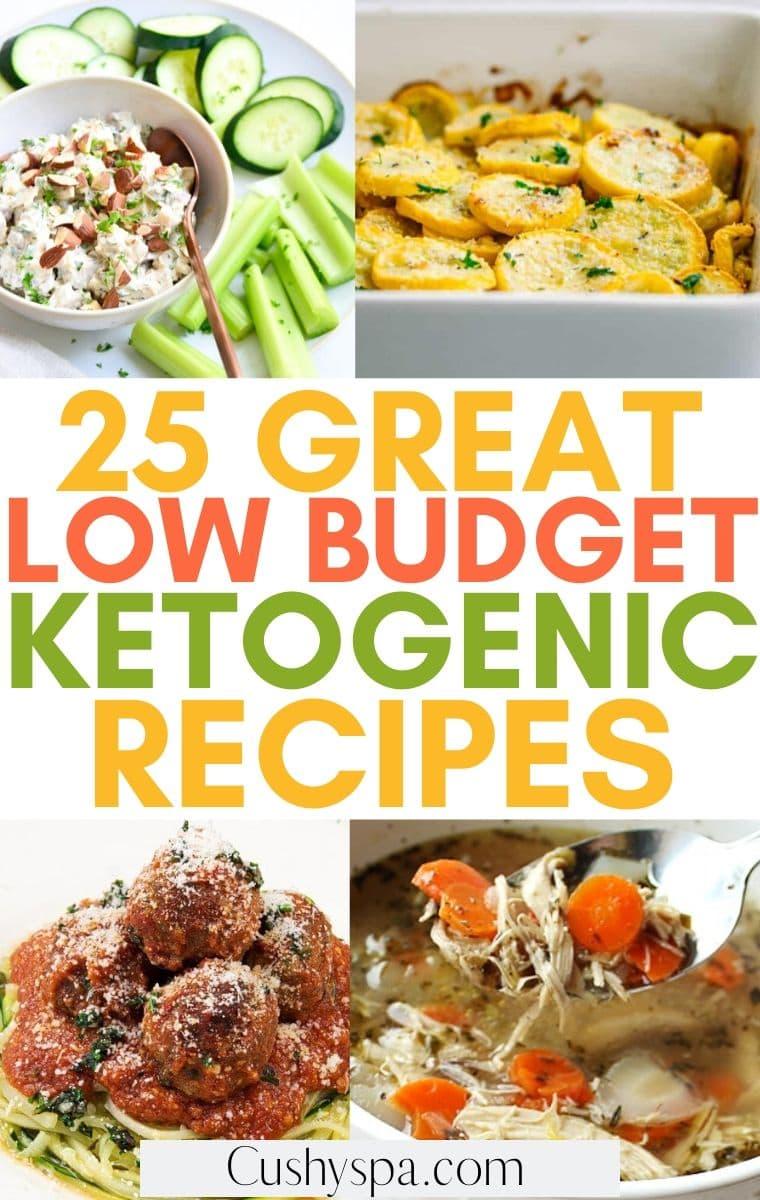 low budget keto meals