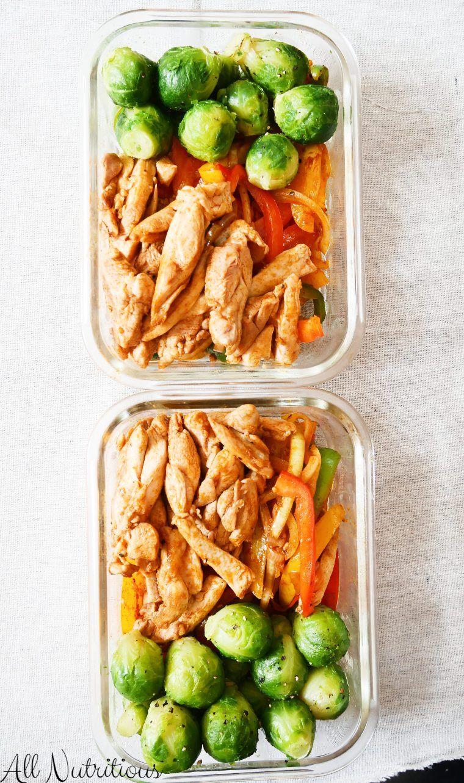 Chicken Fajita Meal Prep Bowl