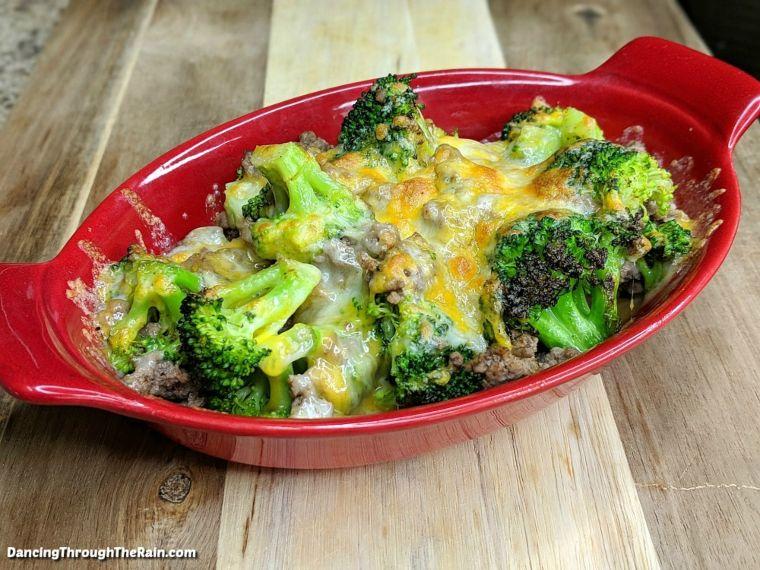 Beef Broccoli Bake