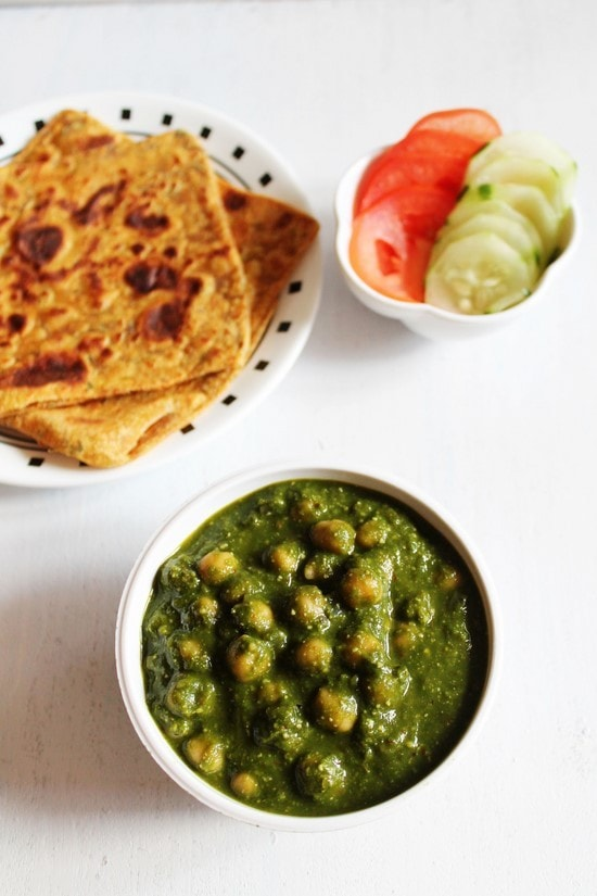 Chana Palak Recipe