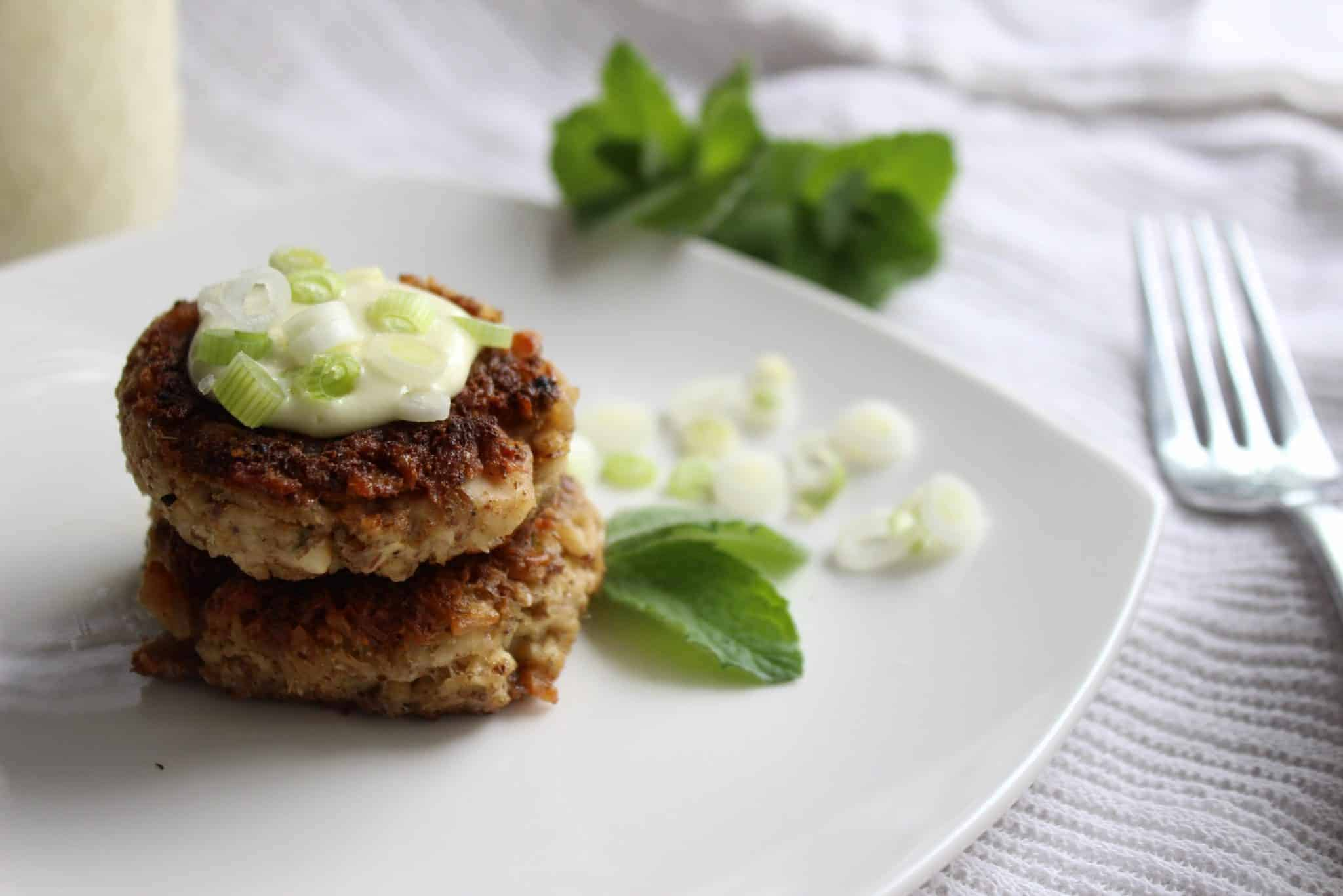 Greek Tuna Cakes