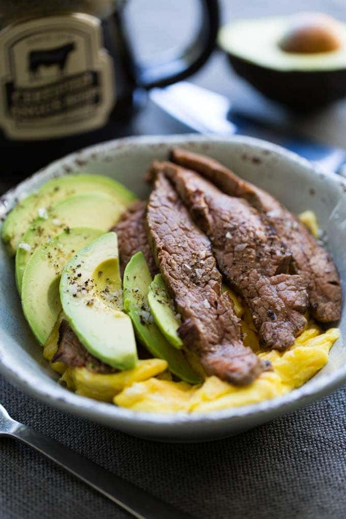 Steak and Egg Breakfast Bowl