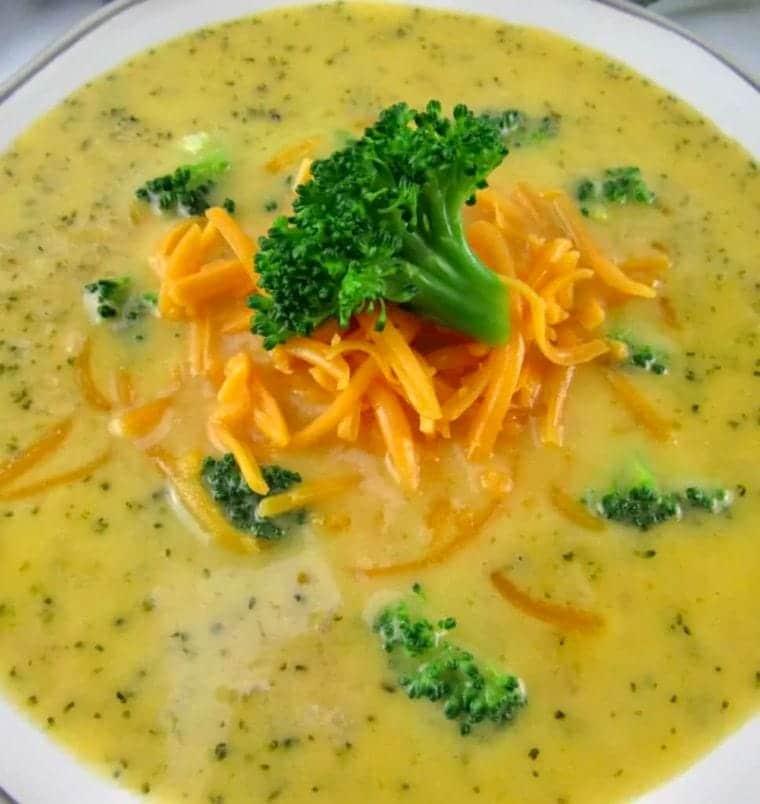 Keto Broccoli Cheese Soup