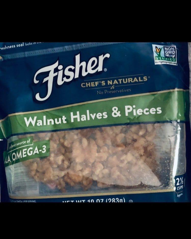 Fisher Chef's Naturals Walnut Halves