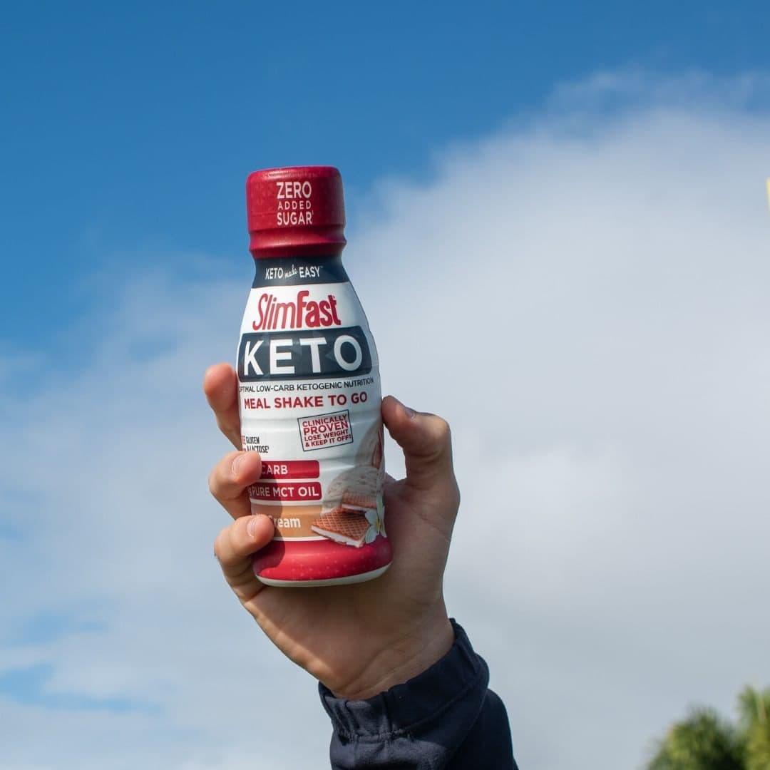 Slim Fast Keto Chocolate Shake