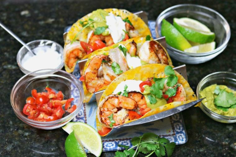 Easy Keto Shrimp Tacos