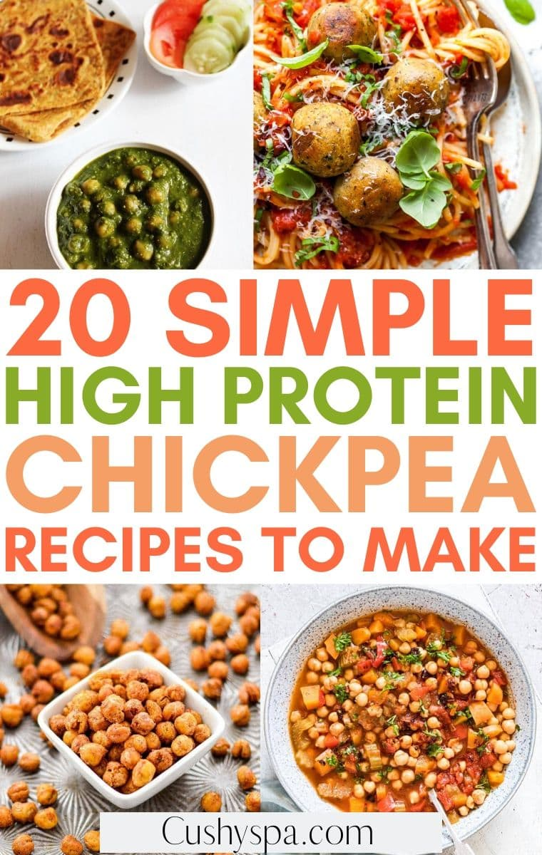 high protein chickpea recipes