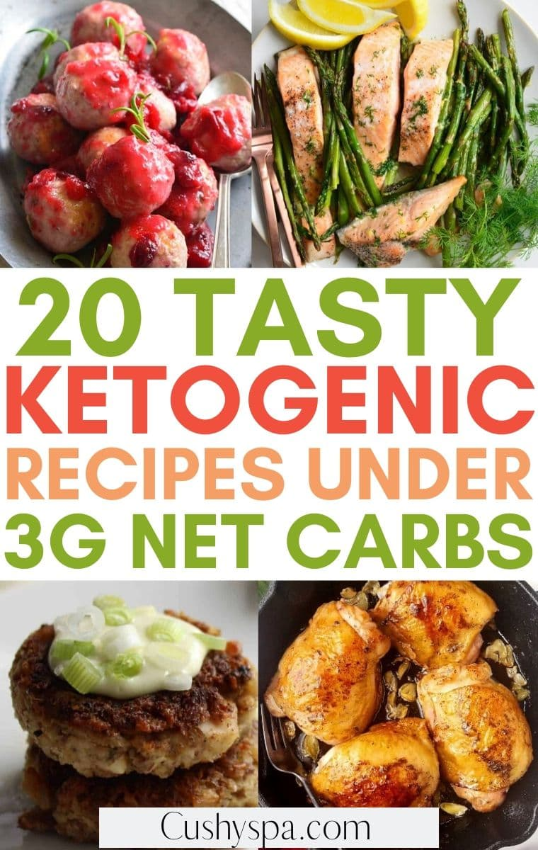 keto meals under 3g carbs