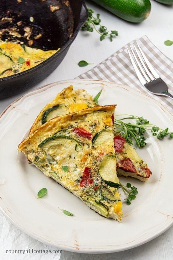 Healthy Zucchini Frittata