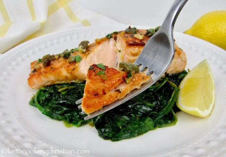 Easy Salmon Piccata
