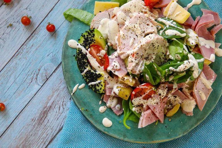 Smoky Ranch Chicken Salad