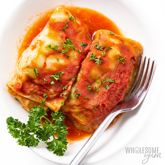 Low Carb Keto Cabbage Rolls