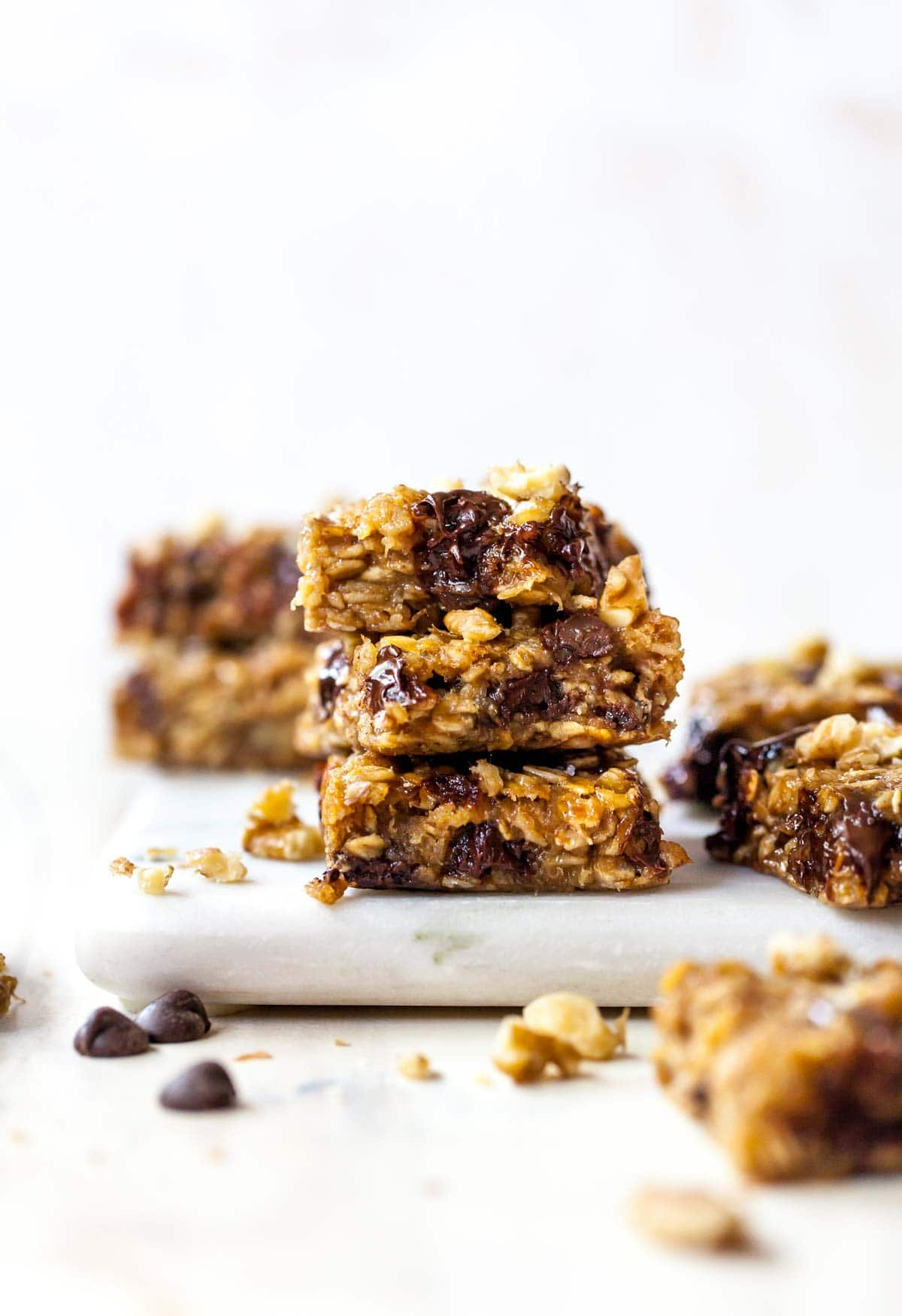 Banana Peanut Butter Oat Bars