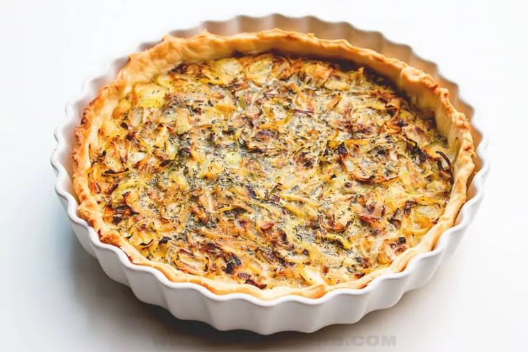 French Onion Tart Recipe