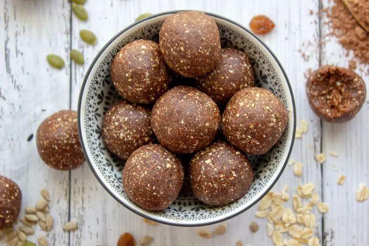 Nut-Free Chocolate Bliss Bites