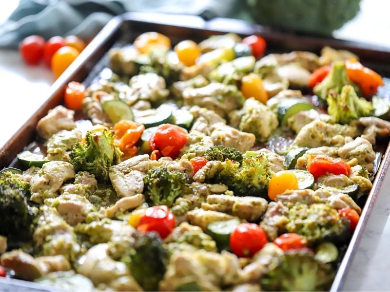 Healthy Chicken Pesto Recipe