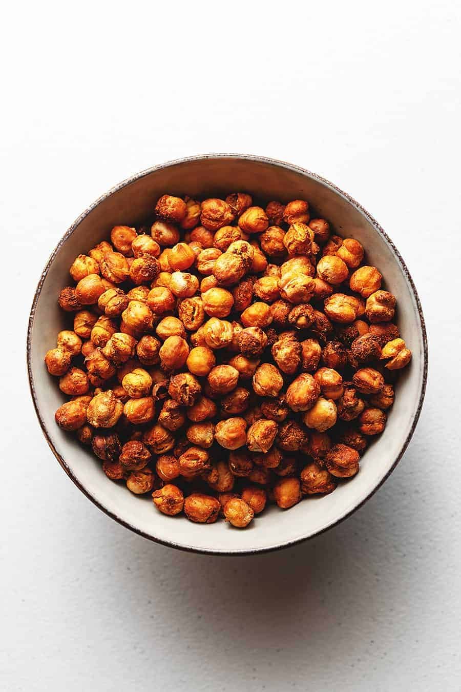 Chili-Lime Spiced Air-Fry Chickpeas
