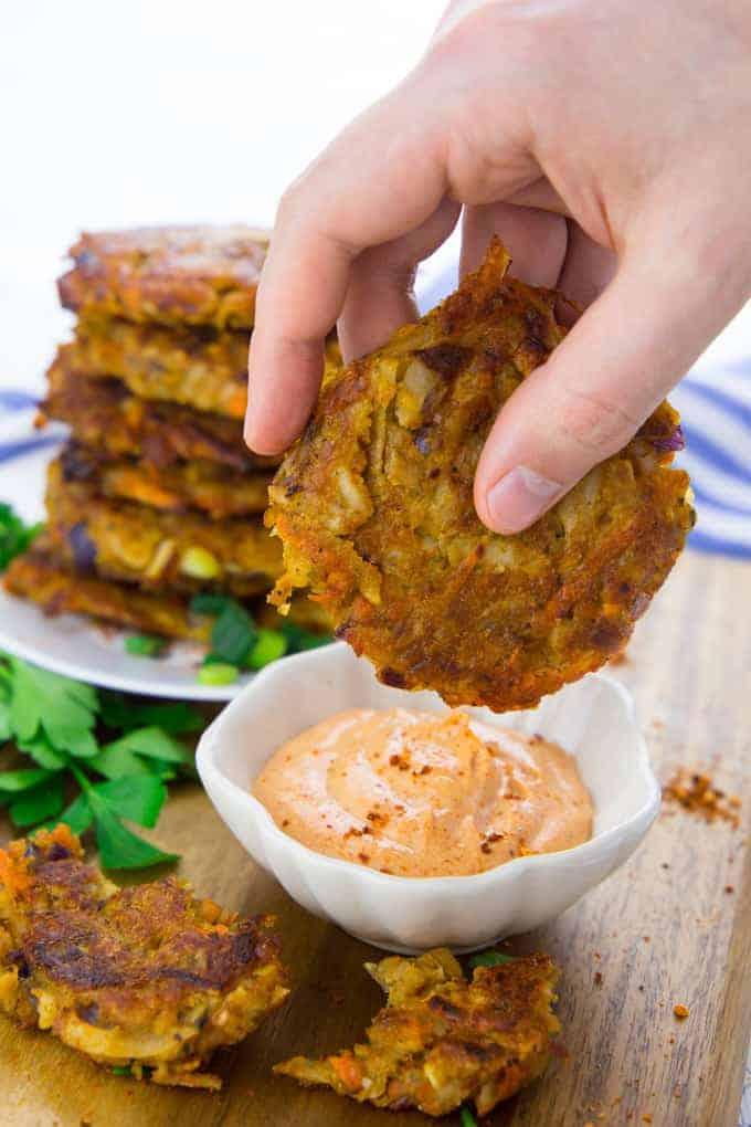 Vegetable Potato Fritters