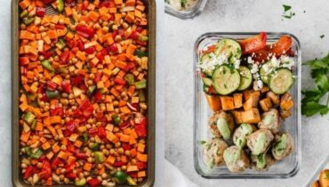 sheet pan meal prep recipes