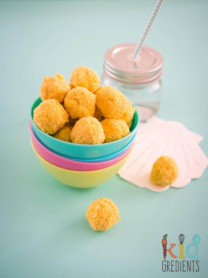 Nut-Free Passionfruit Bliss Balls