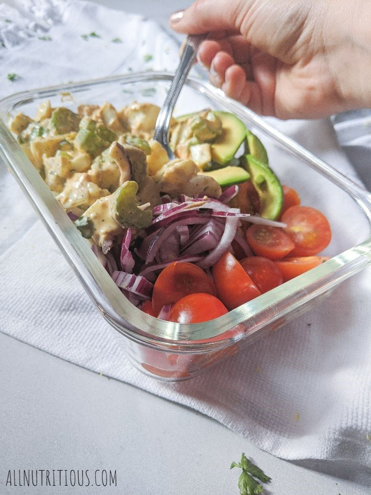 Egg Salad Bowls